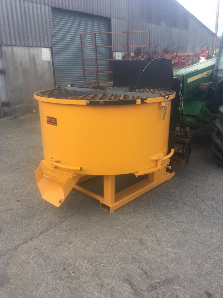 concrete pan mixers for hire